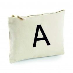 Personalised Makeup Bag - Initial