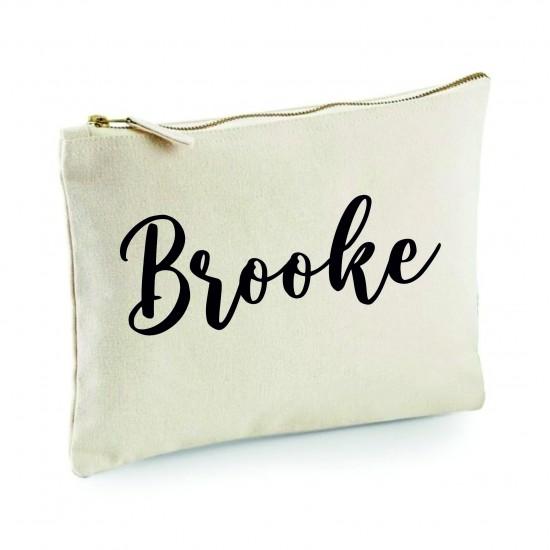 Personalised Makeup Bag - Name