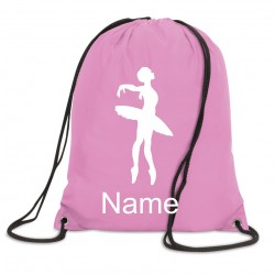 Personalised Ballet Bag (Ballerina)