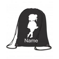 Personalised Ballet Bag (Ballet Girl)