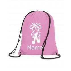 Personalised Ballet Bag (Ballet Shoe)