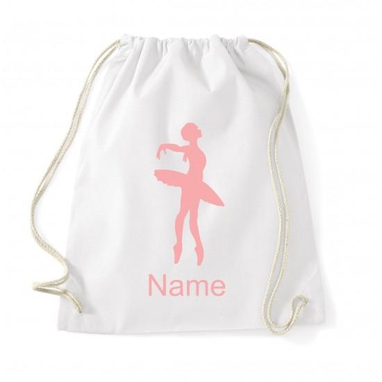 Luxury Personalised Ballet Bag (Ballerina)