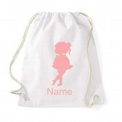 Luxury Personalised Ballet Bag (Ballet Girl)