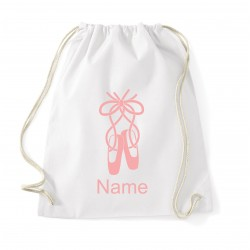Luxury Personalised Ballet Bag (Ballet Shoe)